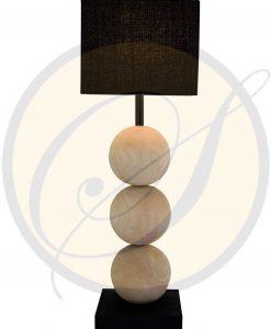 mango wood lamp by Suna Living