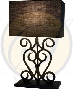 wrought iron lamp by Suna Living
