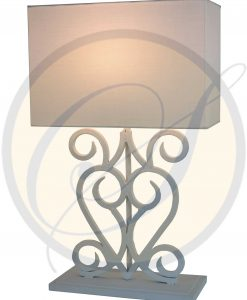 wrought iron table lamp by Suna Living