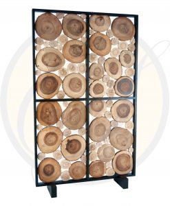 acacia wood room divider/partition by Suna Living