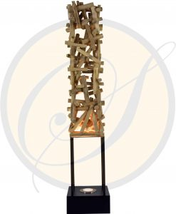 driftwood floor/table lamp by Suna Living